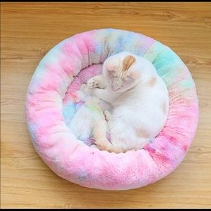 Other - Colorful Marshmallow Bed for Dogs and Cats Soft